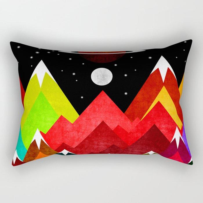 Nature Planet Rectangular Pillow