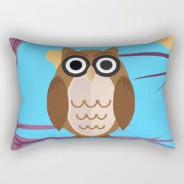 The Wise Owl Rectangular Pillow