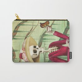 Jane Austen La Catrina Carry-All Pouch