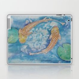 Koi Pond Batik Laptop & iPad Skin
