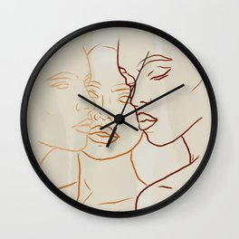 Only You Get To Define Yourself Wall Clock
