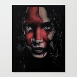MJ Part 2 - Katniss Everdeen Drawing Canvas Print