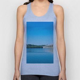 Blue Susquehanna River Unisex Tank Top