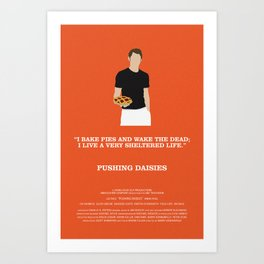 Pushing Daisies - Ned Art Print