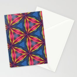 Triangle of Curve Stationery Cards