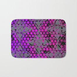 Neon Dots Bath Mat