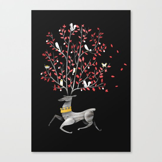 Forest King Canvas Print