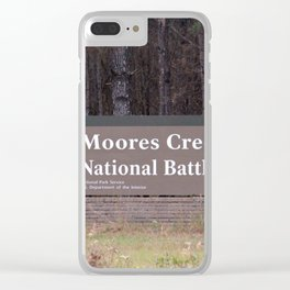 Moores Creek National Battlefield Clear iPhone Case