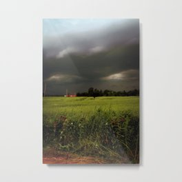 Rolling Thunder, Warm Winds Metal Print