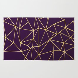Ultra Purple Geo Rug