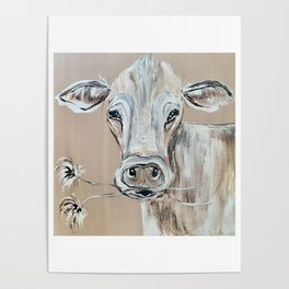 """""""Marge""""  the Cow Poster"""