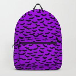 Bats in the Belfry-Purple Backpack