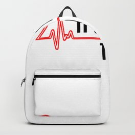 Its A Beautiful Day To Save Lives Backpack