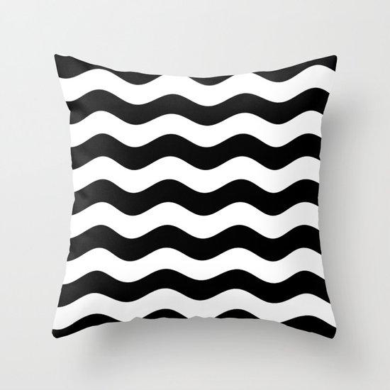 Wavy Stripes (Black/White) by 10813apparel