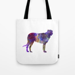 Irish Wolfhound in watercolor Tote Bag