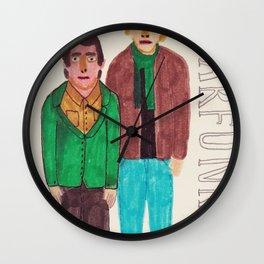 Simon & Garfunkel Wall Clock