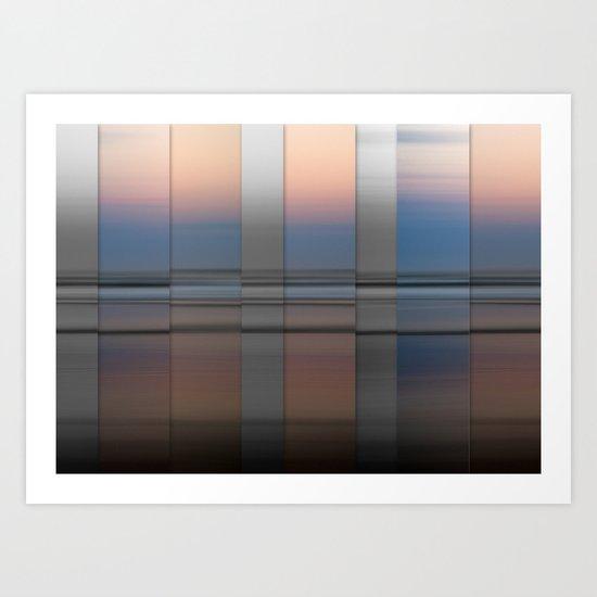 Fade to Grey Art Print