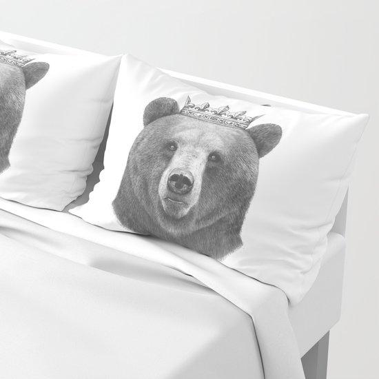 King bear by zhivechkova_art