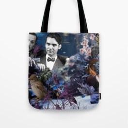 Dalí & Lorca by Be Men Tote Bag