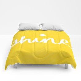 Shine on Yellow Comforters