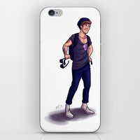 louis ck iPhone & iPod Skins featuring Louis by pygmy