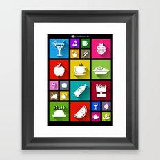 Gastro Windows 8.1 Framed Art Print