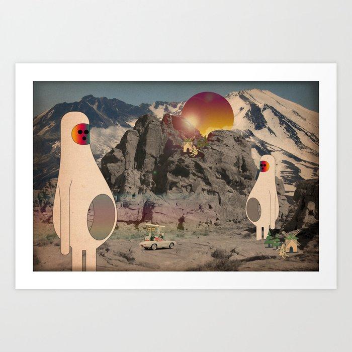 astro_buchi Art Print