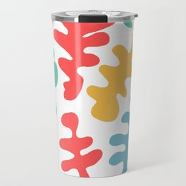 coral by the sea Travel Mug