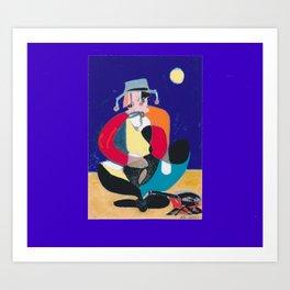 SWAG MAN         Australia          by Kay Lipton Art Print