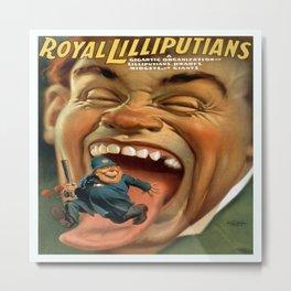Vintage poster - Royal Lilliputians Metal Print