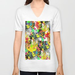 AltErEd tExtUrE Unisex V-Neck