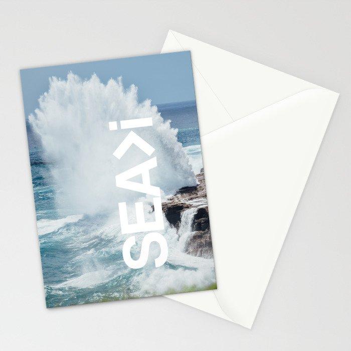 SEA>i   HEAVEN'S POINT Stationery Cards