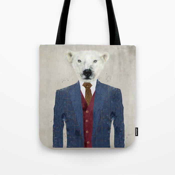 mr polar bear Tote Bag