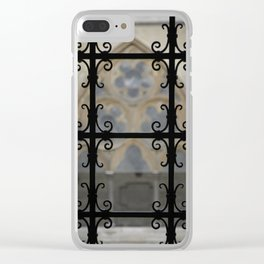 Cloister Detail Clear iPhone Case