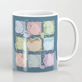 Blobby Cats dark Coffee Mug