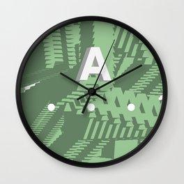 Geometric Calendar - Day 24 Wall Clock
