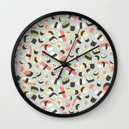 Yummy Sushi! Wall Clock