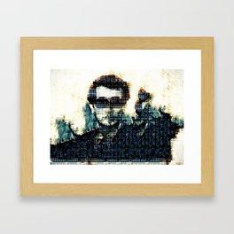 Selfie: Word of the Year Framed Art Print