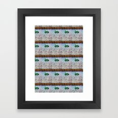 Pelican Pattern (c) Framed Art Print