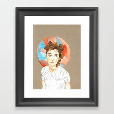 Plain Jane Framed Art Print