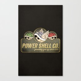 Power Shell Co. Canvas Print