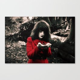 Red Riding Hood 2 Canvas Print