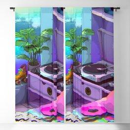Vaporwave Aesthetic Blackout Curtain