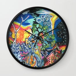 The Elements Wall Clock