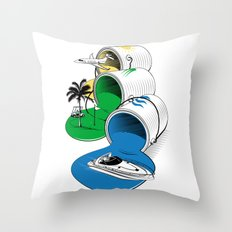Luxury Paints Throw Pillow