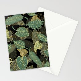Leafes Pattern Stationery Cards