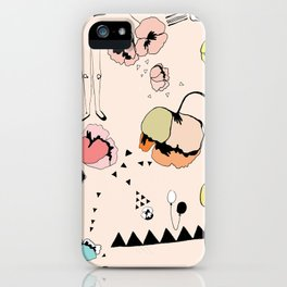 Poppies Print iPhone Case