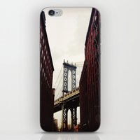 dumbo iPhone & iPod Skins featuring DUMBO by Britannie Bond