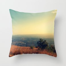 July Throw Pillow