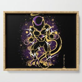Golden Frieza! Serving Tray